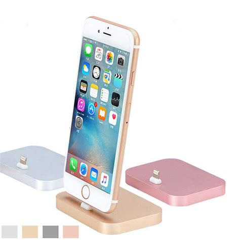 High Quality Base Dock Charger For Iphone 55s high quality metal charging base dock station cradle