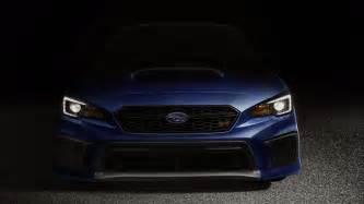 Subaru Wrx Performance 2018 Subaru Wrx And Sti Bring New Look More Performance