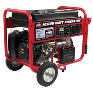 all power 10 000 watt 15 hp gasoline powered portable