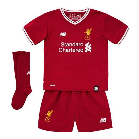 Jersey Liverpool Home 2017 2018 youth liverpool home jersey 2017 2018 black