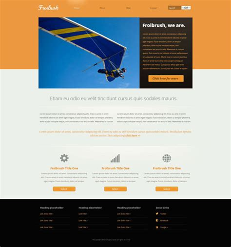 Ready Adventure Website Template Free Website Templates Adventure Website Templates