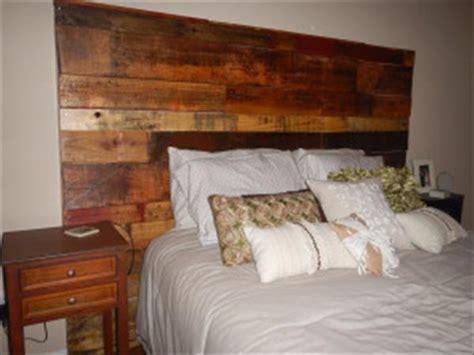 Wood Pallet Headboards by Diy Wood Pallet Headboard Pallet Furniture Diy