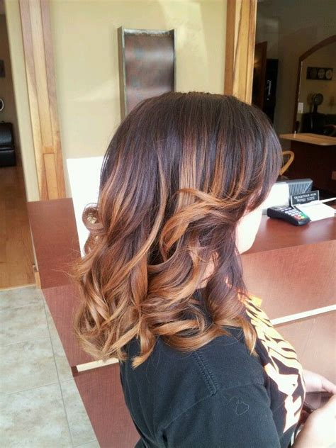 short dark ombre hair color ombre hair color on short hair short hairstyles pinterest