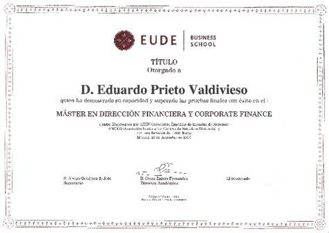Isead Business School Mba by Diploma Eude M 225 Ster Direcci 243 N Financiera Y Corporate Finance