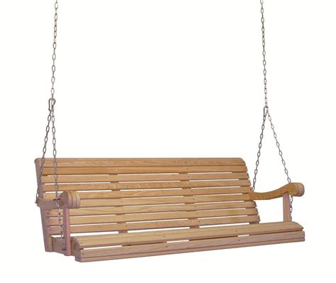 porch swing chains amish cypress porch 5 grandpa swing with chain