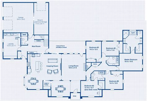 single story house plans design interior bedroom
