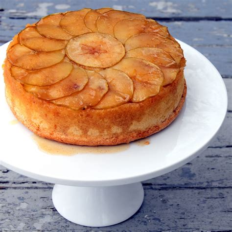 apple upside down cake spiced caramel apple upside down cake recipe dishmaps