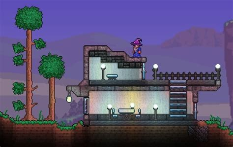 Futuristic Furniture by No Wood Boxes A Building Guide Terraria Community Forums