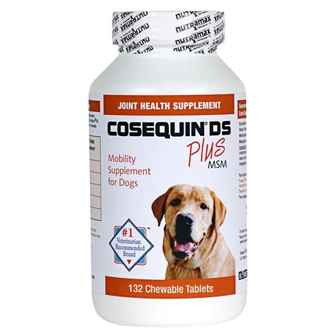 joint health for dogs consequin ds for dogs consequin strength plus msm petco