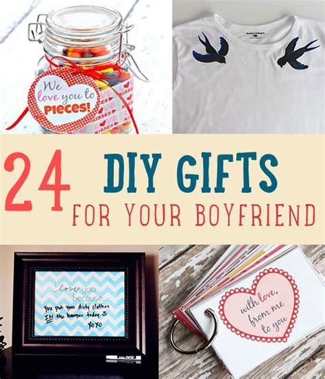 small christmas gifts for boyfriend 24 diy gifts for boyfriend diy projects