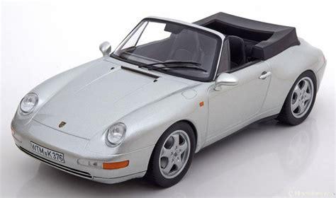 Porsche 993 Hardtop by 1 18 Norev Porsche 911 993 Convertible 1994 With