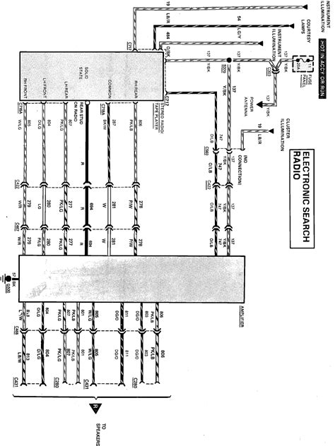 mercury stereo wiring diagram