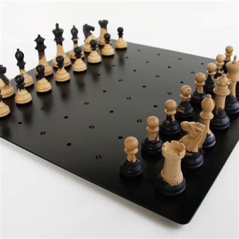 unique chess sets unique chess set wood metal combination