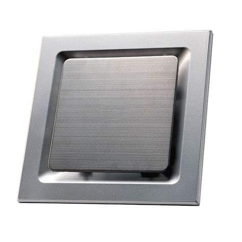 stainless steel bathroom exhaust fan srvxsq10ss best prices for square bathroom exhaust fans