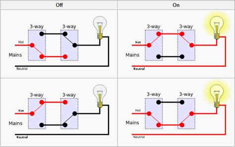 simple 3 way switch wiring diagram