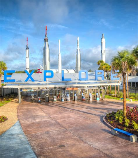 canaveral visitor center visit kennedy space center visitor complex at cape canaveral