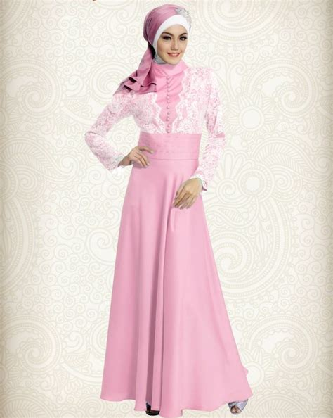Gamis Remaja Brokat Tamara Color 18 best images about style on