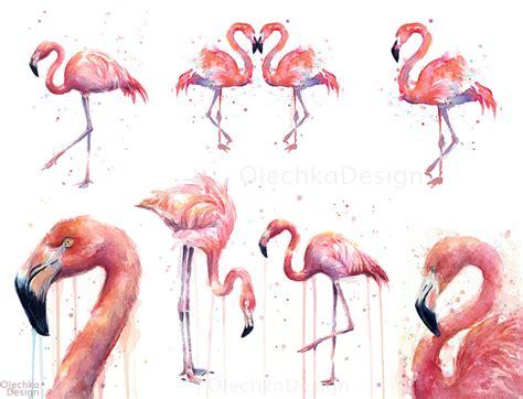 Tropical Home Decor by Flamingo Art Olechka Design
