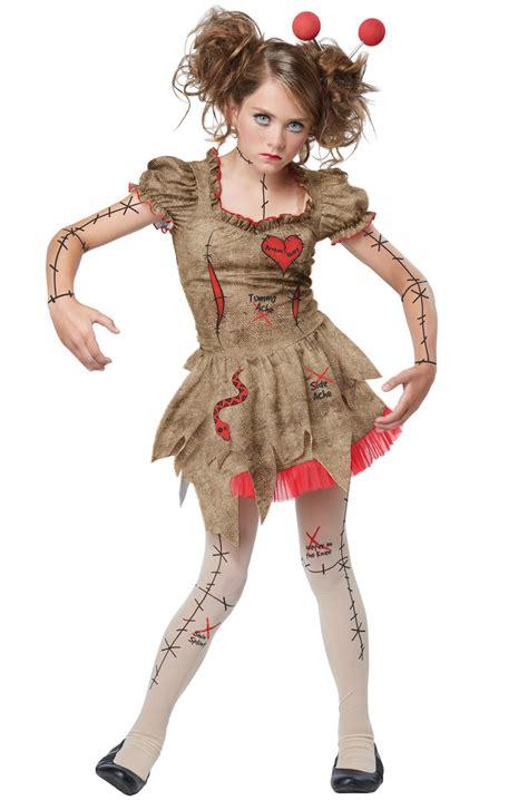 tween costumes purecostumescom voodoo dolly tween costume purecostumes com