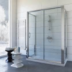 3 sided glass shower enclosure shower enclosure 3 sided 800x1000 mm h1850 clear glass mod