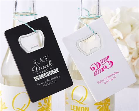 Bottle Opener Giveaways - personalized birthday party favor bottle openers