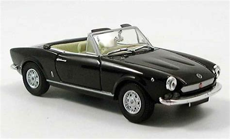Sport Spider Black fiat 124 spider black starline diecast model car 1 43