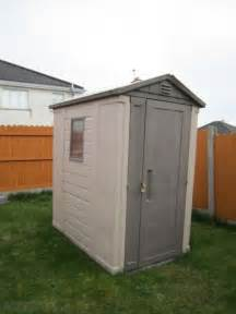Plastic Garden Shed Sale 4 x 6 keter plastic apex garden shed for sale in cashel