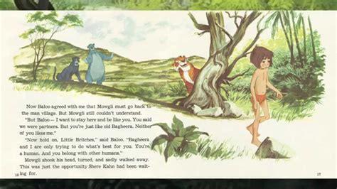 the jungle book book report disney s book and record the jungle book