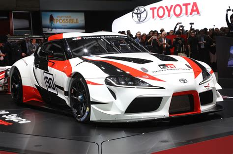 toyota supra side view toyota supra previewed by gr supra racing concept motor