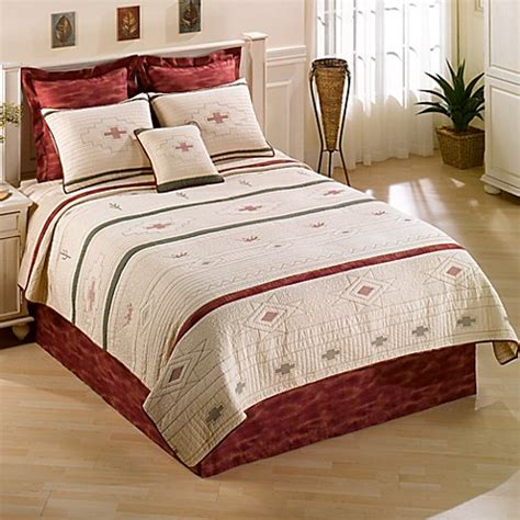 donna sharp bedding buy donna sharp cactus lizard twin quilt from bed bath