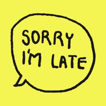 sorry i m late unisex t shirt badge stereohype