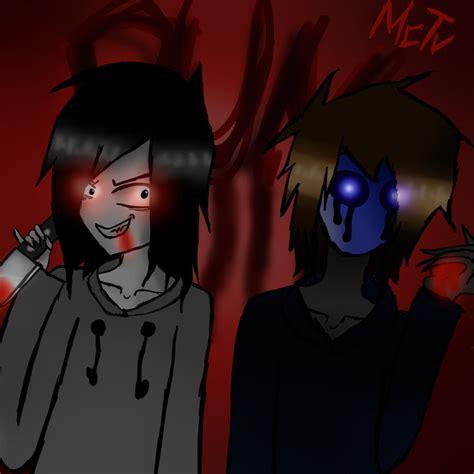 imagenes de jack y jeff jeff the killer and eyeless jack by melicrafttv on deviantart