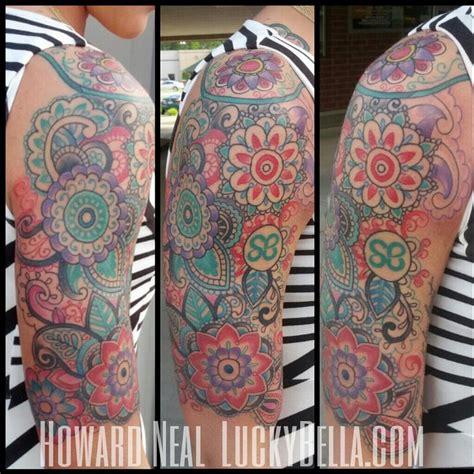paisley quarter sleeve tattoo 40 paisley pattern tattoos on sleeve