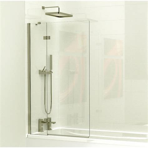 Shower Taps For Baths kudos 2 panel bath screen uk bathrooms