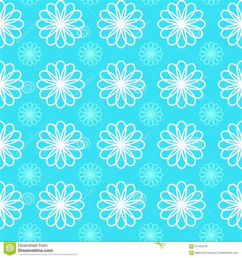 svg pattern fill color flower ornament vector pattern stock vector image