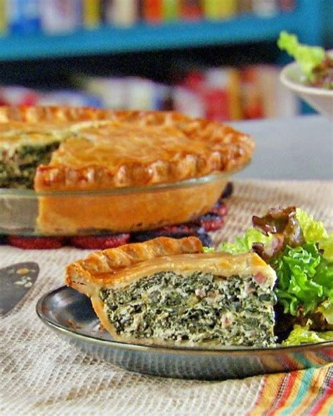 spinach and ham pie recipe pie recipes spinach and crusts