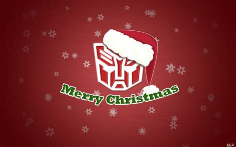 transformers christmas wallpaper by darklordzafiel on