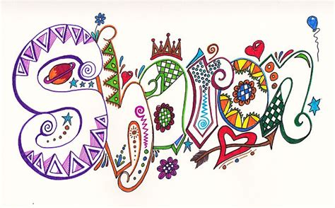 doodle name tiara 38 best my name images on letter board and