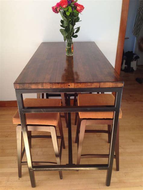 butcher block top breakfast bar rustic furniture pinterest 20 sleek kitchen designs with a beautiful simplicity