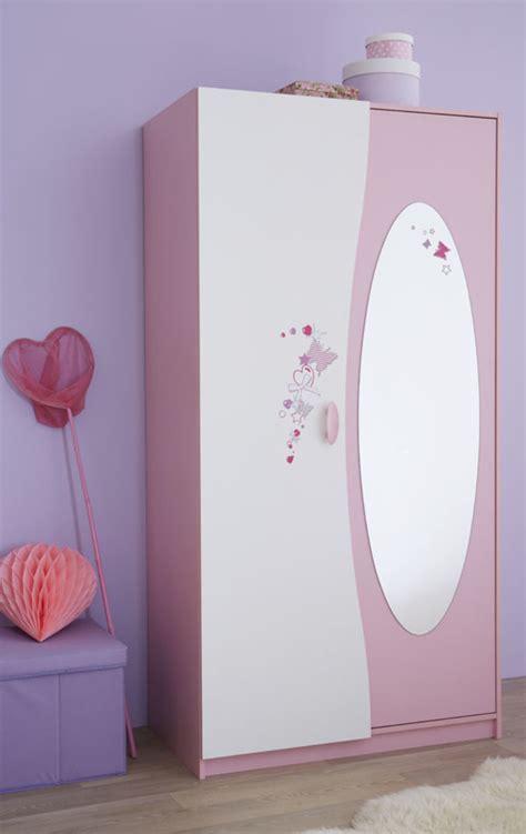 chambre enfant papillon armoire 2 portes papillon blanc