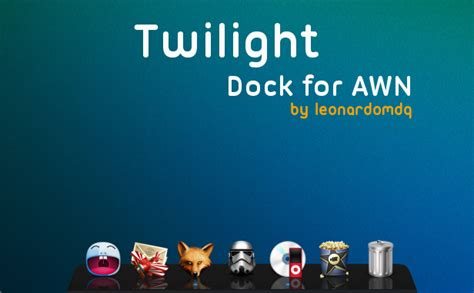 twilight dock for awn by leonardomdq on deviantart