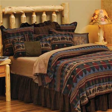 cabin bedspreads and comforters bedding rustic bedding pine cone thread count rustic