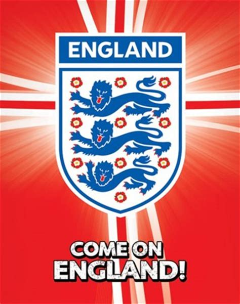 Football Wall Murals come on england international football poster buy online
