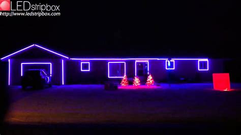 rgb led strip christmas lights on ledstripbox com youtube