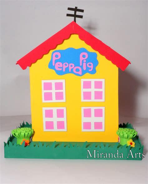 casa pepa pig casa peppa pig no elo7 miranda artes em e v a 528808