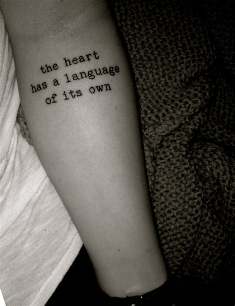 typewriter font tattoo the ink i want pinterest