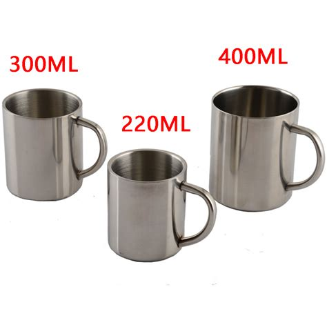 Weston Tumbler Stain Less Steel 400 Ml 1pcs new 220ml 300ml 400ml stainless steel portable mug galss wall travel tumbler