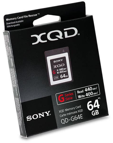 Sony 256gb Xqd G Series Memory Card sony g series xqd 2 0 card 64gb memory card review memory speed comparison