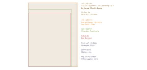 the beginner s guide to creating planner pages in indesign the beginners guide to planner binders and refill sizes