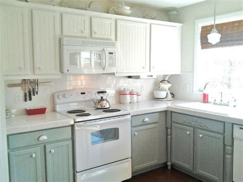 Virginia And Charlie The Big Moment Came And Went Different Color Kitchen Cabinets